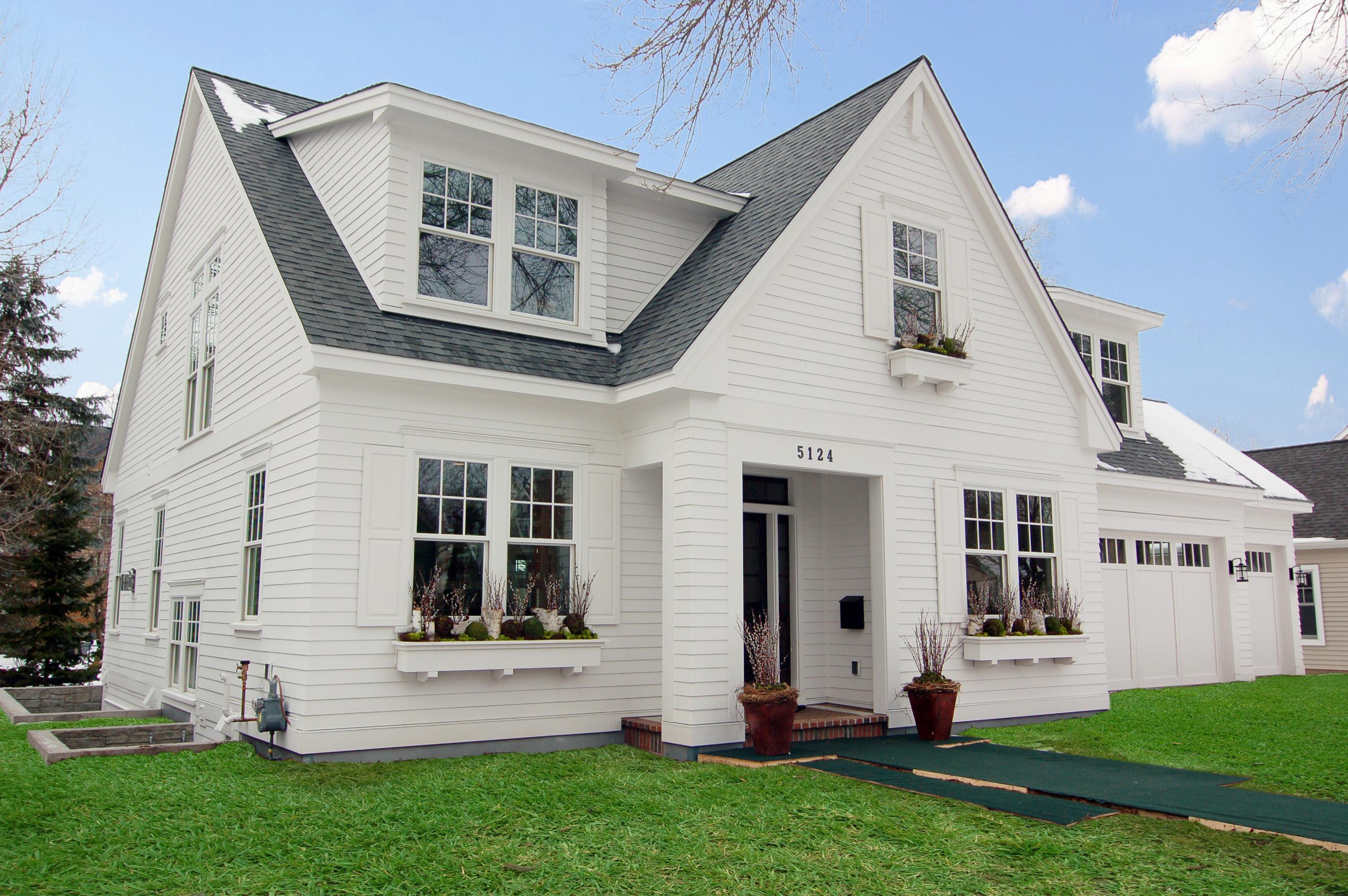 Modern Cape Cod Great Neighborhood Homes Custom Home
