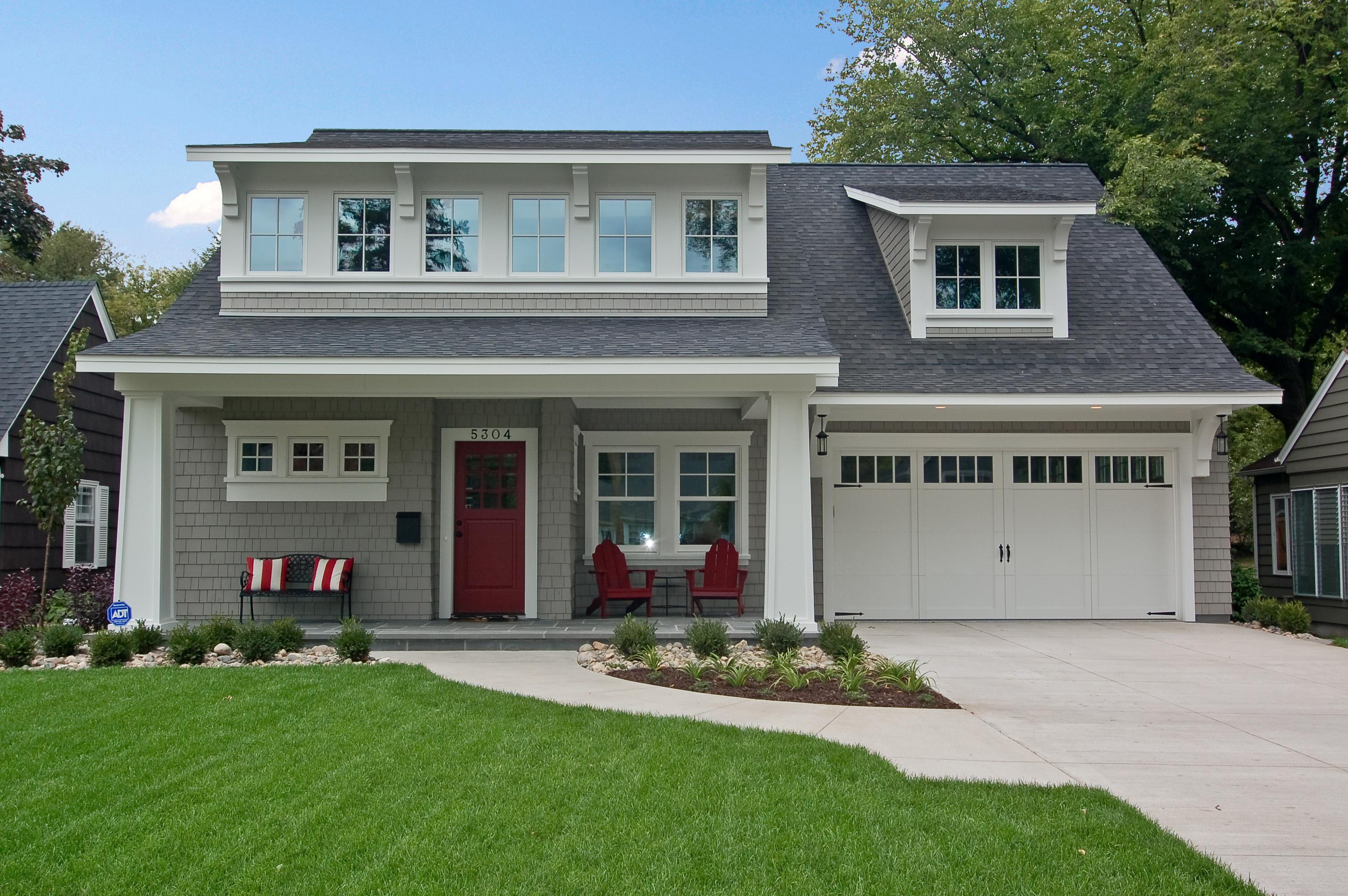 Modern Bungalow Great Neighborhood Homes Custom Home