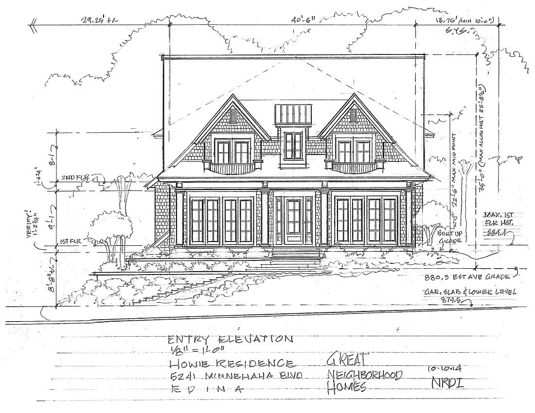 5241 minnehaha boulevard great neighborhood homes for Exterior design studio edina mn