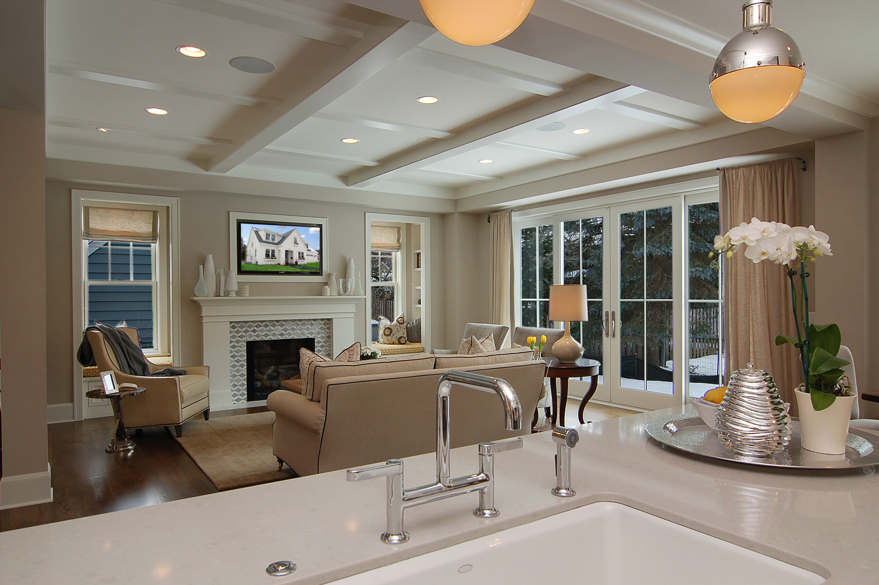 Great neighborhood homes custom home builder modern for Modern cape cod house
